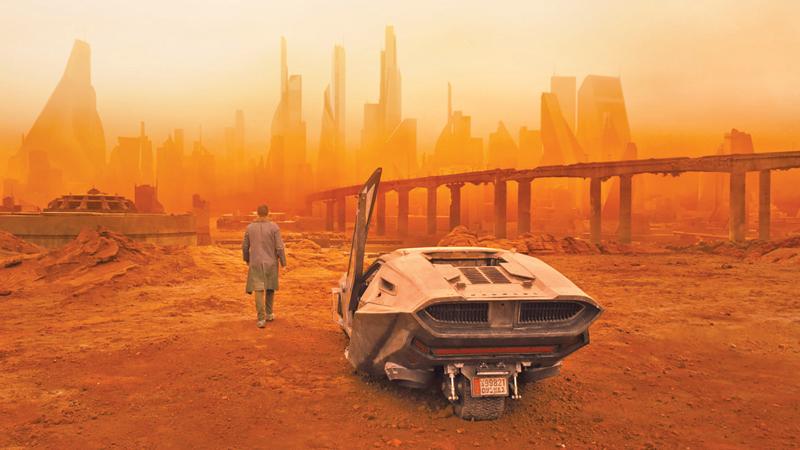 Plano abierto Blade Runner 2049